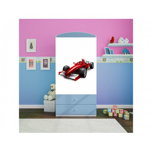 Szafa z nadrukiem, grafiką, obrazkiem kolekcja Fernando - Formuła F1
