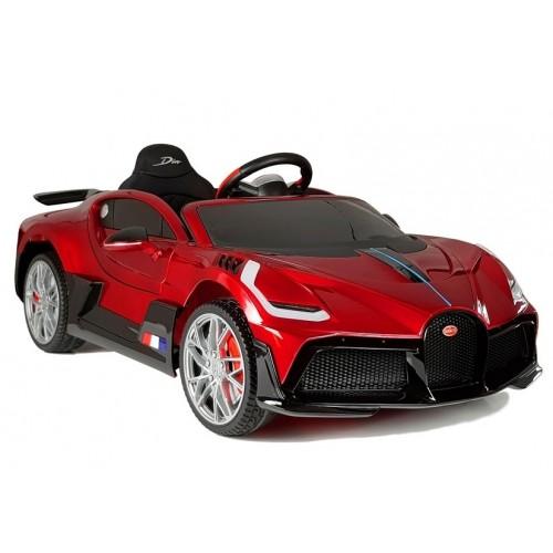Auto na Akumulator Bugatti Divo Czerwony Lakierowany Prestiż