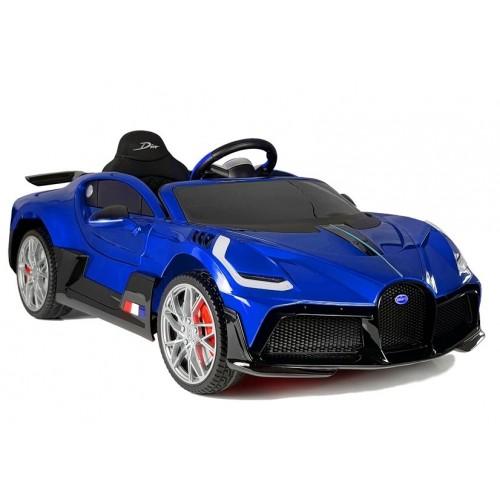 Auto na Akumulator Bugatti Divo Niebieski Lakierowany Prestiż