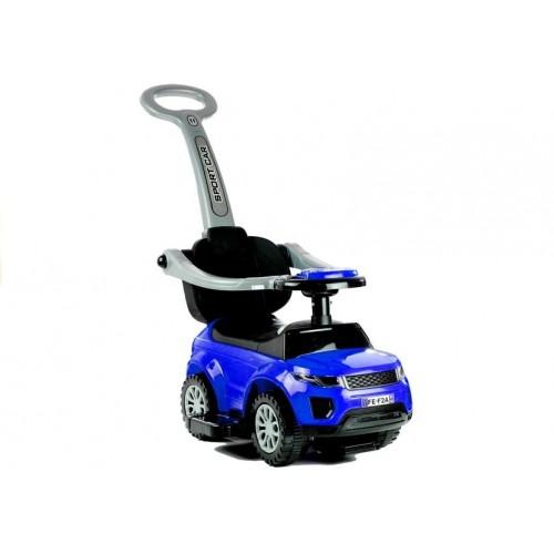 Jeździk z Pchaczem Range Rover Niebieski