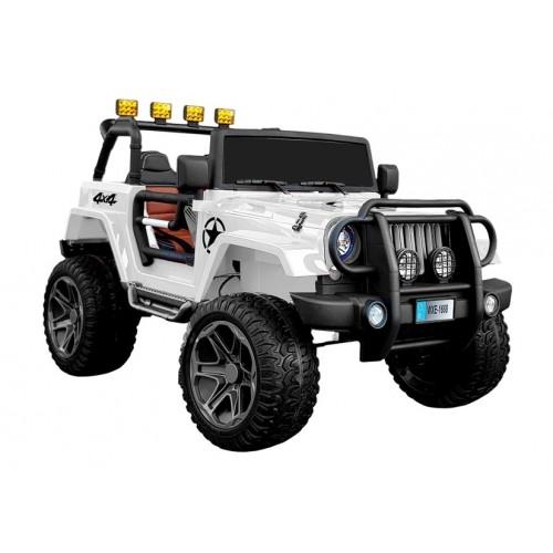Auto na Akumulator Jeep Terenówka Limited 180Watt Biały
