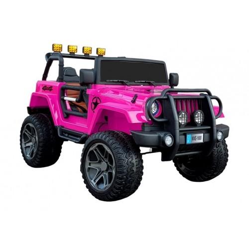 AUTO NA AKUMULATOR JEEP TERENÓWKA LIMITED 180WATT Różowy Kobiecy