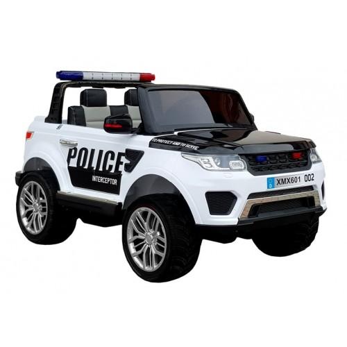 Auto na akumulator Policyjne Ford RANGER Raptor Biały