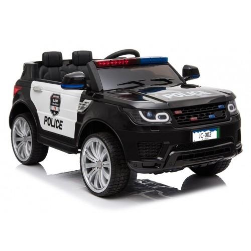 Auto na akumulator Ford Explorer POLICJA wersja Interceptor Czarny