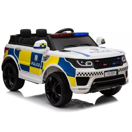 Auto na Akumulator Ford Explorer POLICJA wersja Interceptor Biały