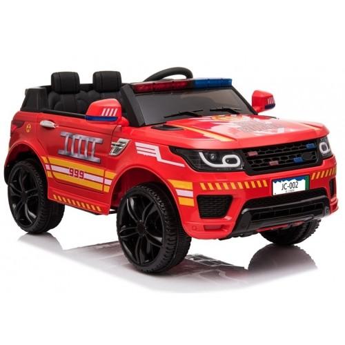 Auto na Akumulator Straż Pożarna Ford Explorer Czerwony
