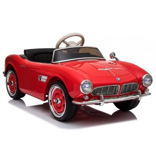 Auto na Akumulator BMW Retro Czerwone Lakierowane Klasyk