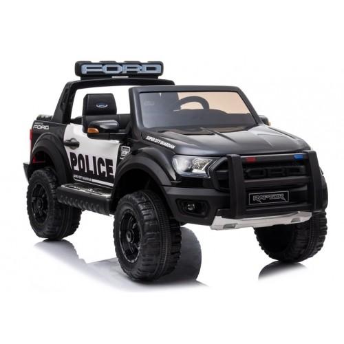 Auto na Akumulator Ford RANGER Raptor Policja Czarny Lakierowany