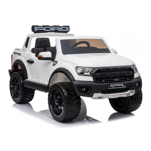 Auto na akumulator Ford Ranger wersja Raptor Biały