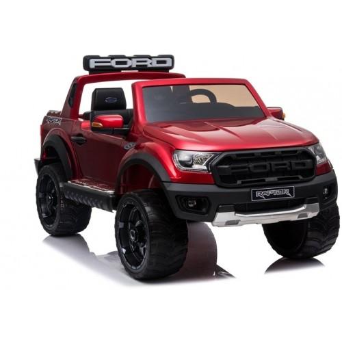 Auto na akumulator Ford Ranger wersja Raptor Czerwony Lakierowany