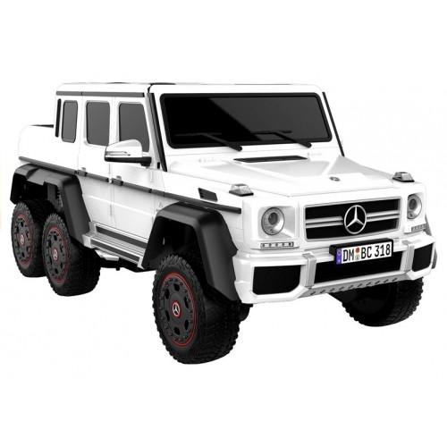 Auto na Akumulator Mercedes G63 Biały + MP4