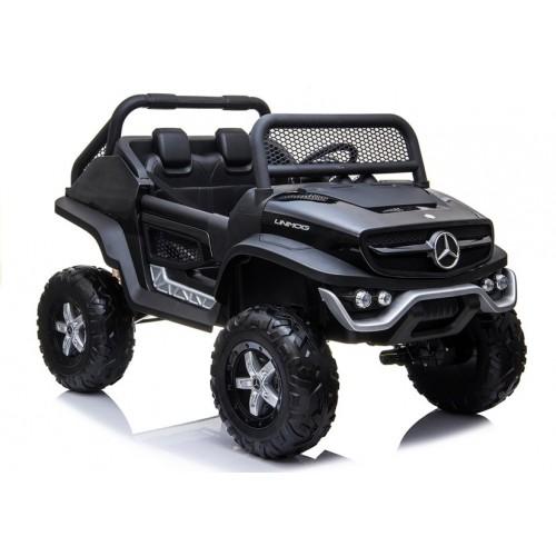 Auto na Akumulator NOWY Mercedes Unimog Czarny