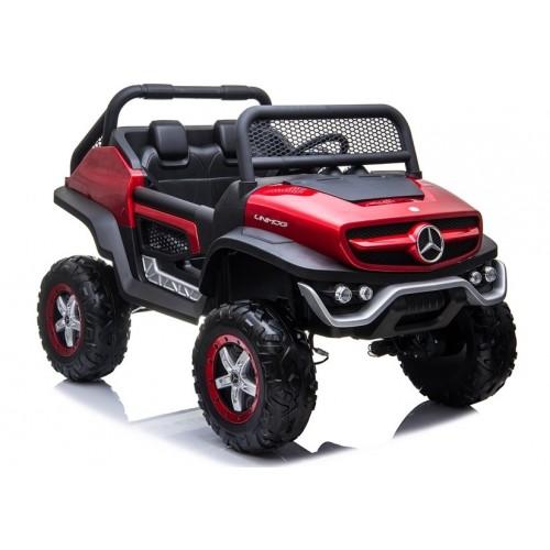 Auto na Akumulator NOWY Mercedes Unimog Czerwony