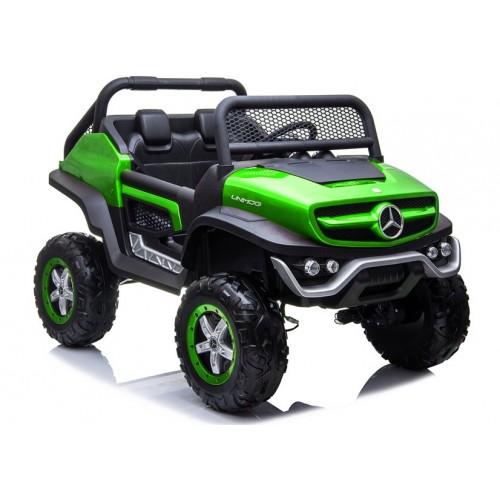 Auto na Akumulator NOWY Mercedes Unimog Zielony