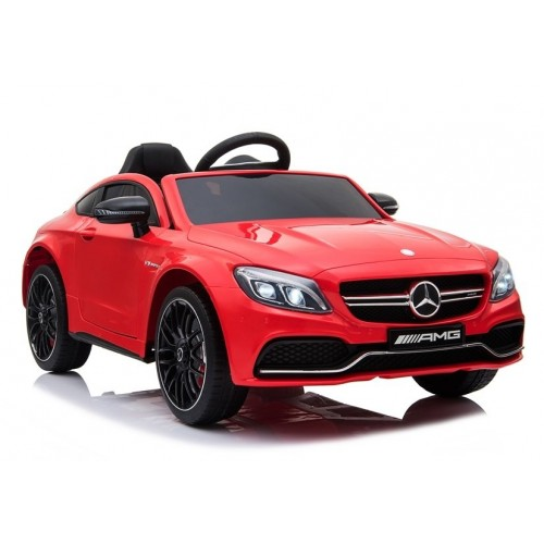 Auto na Akumulator Mercedes C63 Czerwony 2x12V13000RPM