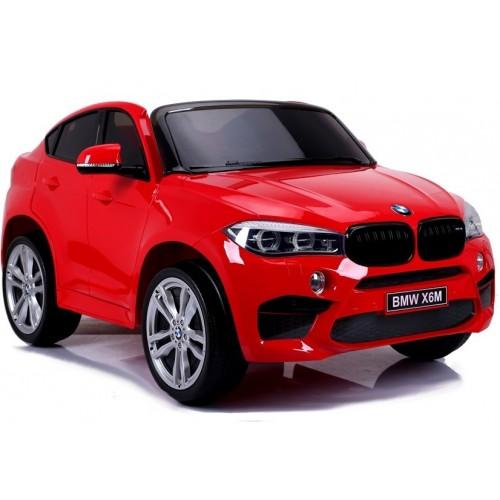 Auto na Akumulator NOWE BMW X6 M-Pakiet Czerwone 2-osobowe moc 240W
