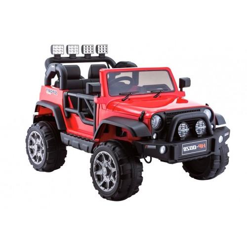 Auto na Akumulator Jeep Grand Mountain Czerwony
