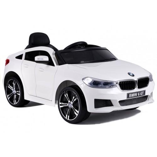 Auto na Akumulator BMW 6 GT Białe 2x12V/12000RPM
