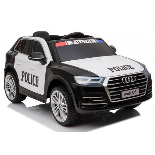 Auto na Akumulator Audi Q5 S Pojazd policyjny Radiowóz