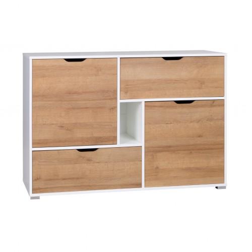 Komoda Incept IN01 2 szuflady 2 drzwi