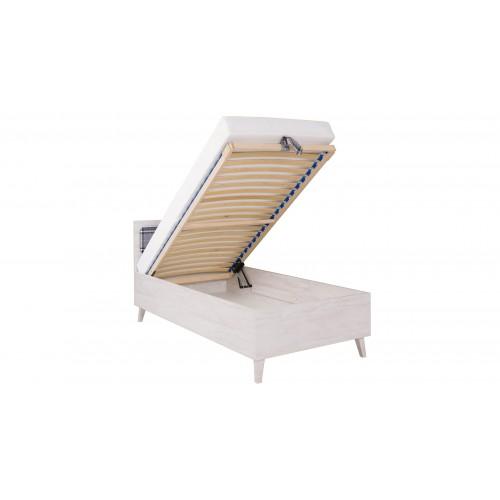 Łóżko jednoosobowe Focca F9 młodzieżowe do pokoju
