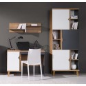 Kolekcja Focca XIV - komplet mebli młodzieżowych, regał, biurko, półka