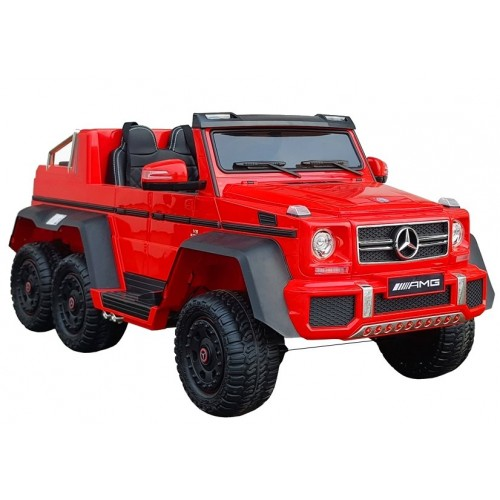 Auto Na Akumulator Mercedes MONSTER 6x45W Czerwony
