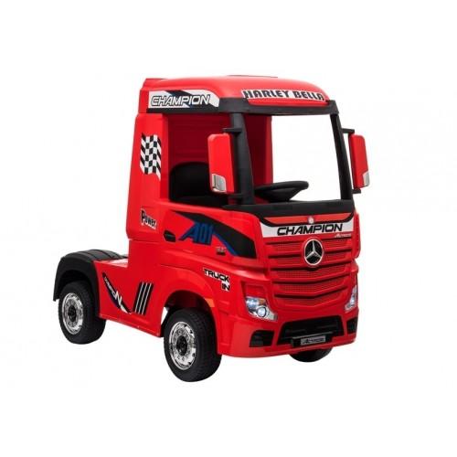 Auto na Akumulator Mercedes Actros Czerwony 4x45W Amortyzatory