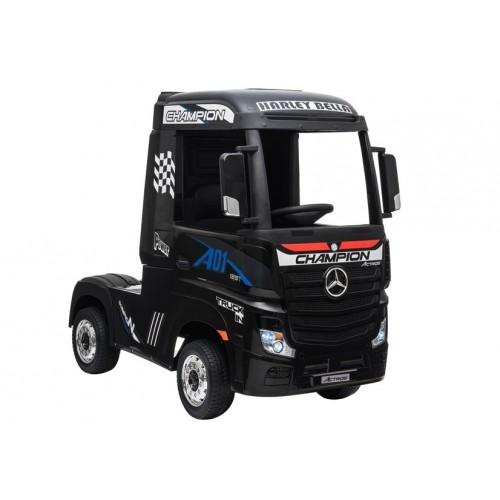 Auto na Akumulator Mercedes Actros Czarny 4x45W Amortyzatory