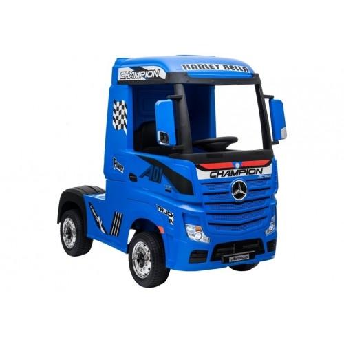 Auto na Akumulator Mercedes Actros Niebieski Lakierowany 4x45W Amortyzatory