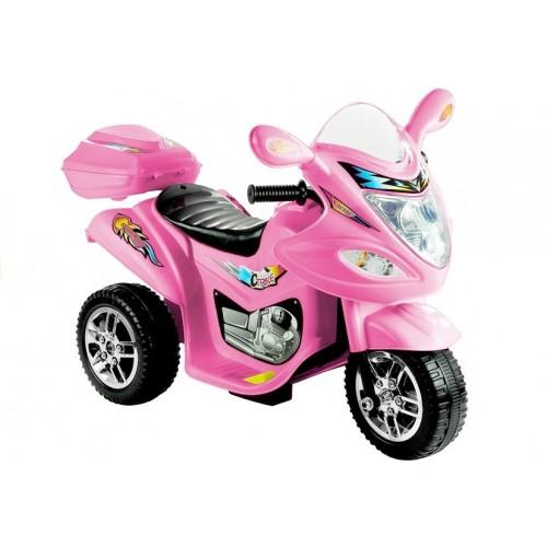 Motor na Akumulator Trajka Różowy