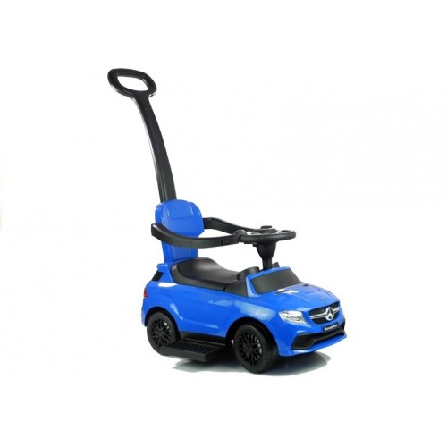 Jeździk Mercedes GLE 63 z Pchaczem Niebieski