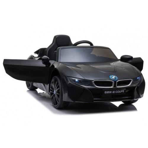 Auto na Akumulator BMW i8 Czarny koła EVA + światła LED