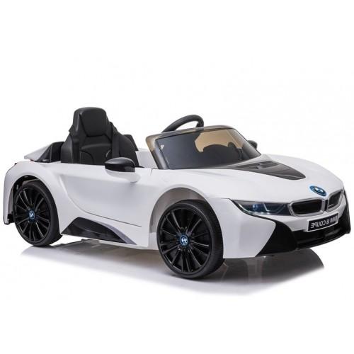 Auto na Akumulator BMW i8 Biały koła EVA + światła LED