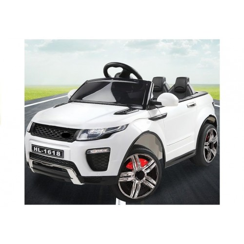 Auto na akumulator LAND ROVER Biały