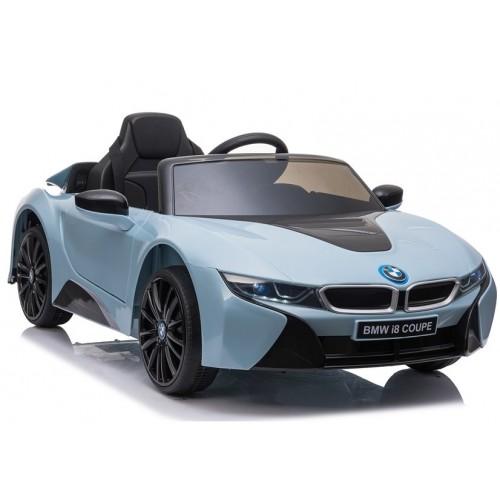 Auto na Akumulator BMW I8 Niebieskie koła EVA + światła LED