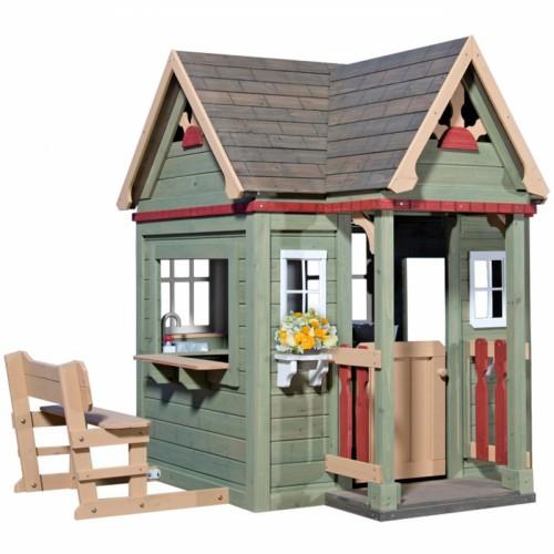 Drewniany domek ogrodowy Victorian Inn Backyard Discovery