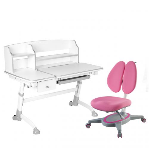 Amare II Grey with Drawer + Primavera II Pink