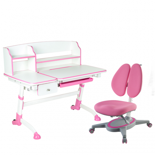 Amare II Pink with Drawer + Primavera II Pink