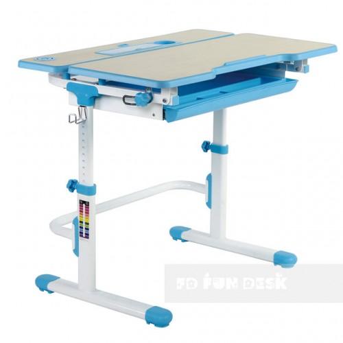 Biurko dziecięce Lavoro L Blue