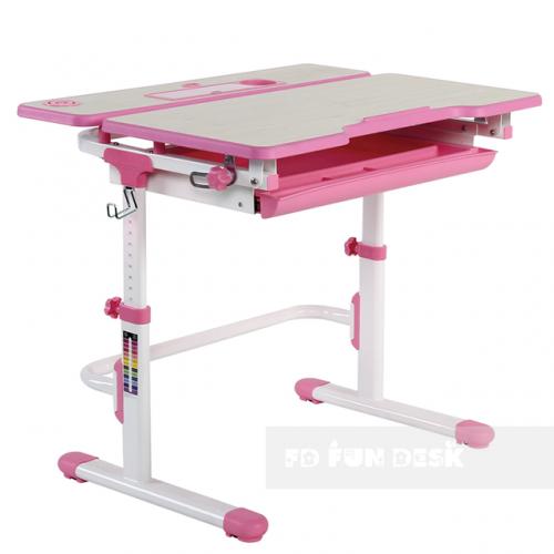 Biurko dziecięce Lavoro L Pink
