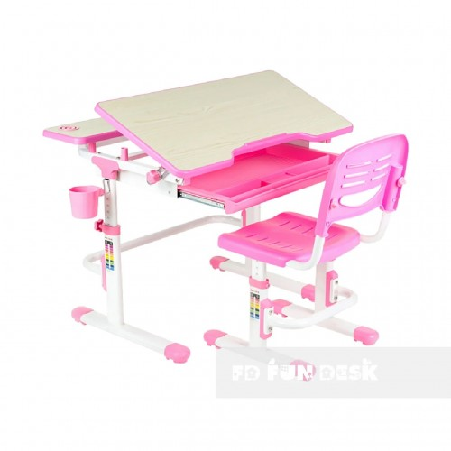 Biurko dziecięce Lavoro Pink