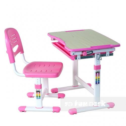 Biurko dziecięce Piccolino Pink