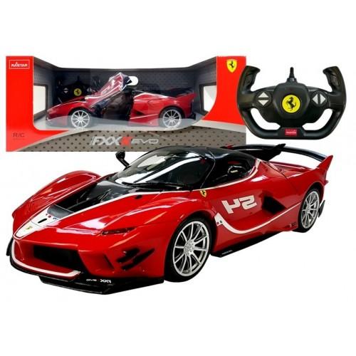 Auto R/C Ferrari Rastar 1:14 Czerwone na pilota