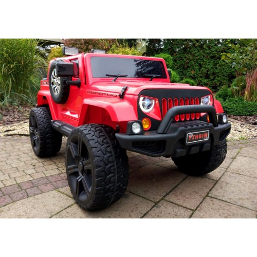 Auto na Akumulator Jeep HL1668 4x4 Czerwony