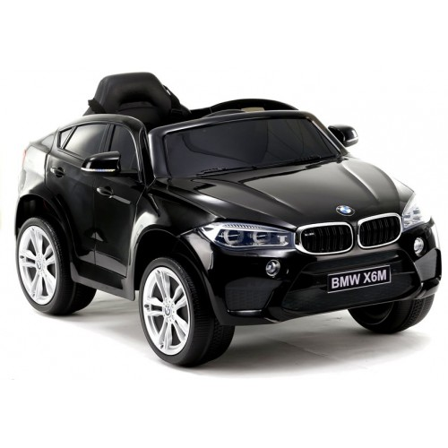 Auto na Akumulator BMW X6 Czarne Skóra, EVA