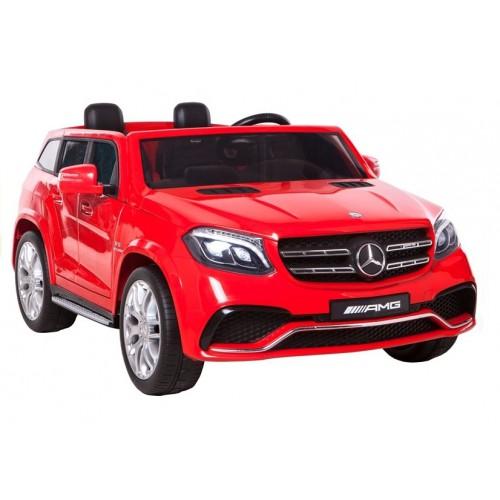 Auto Na Akumulator Mercedes GLS63 Czerwony 4x4 wolny start