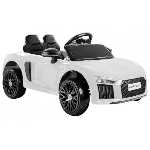 Auto na Akumulator Audi R8 Spyder Biały Bestseller