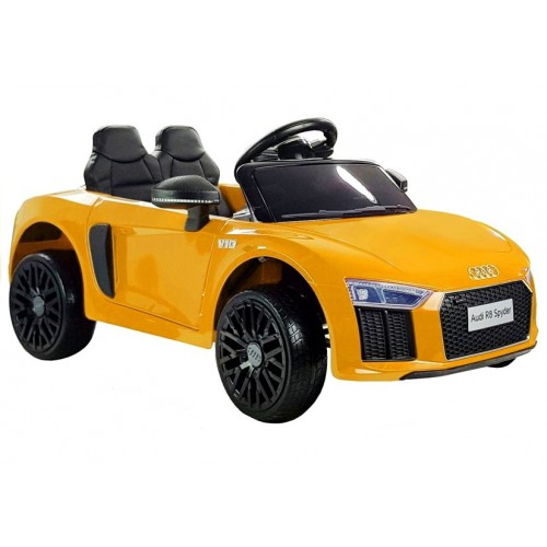 Auto na Akumulator Audi R8 Spyder Żółty Bestseller