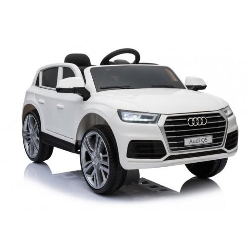 Auto Na Akumulator Audi Q5 Białe Mp3 styl i komfort